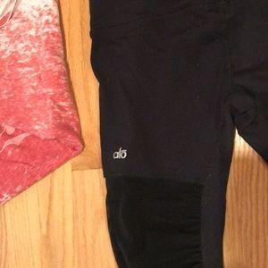 ALO Yoga Pants - Mesh goddess leggings